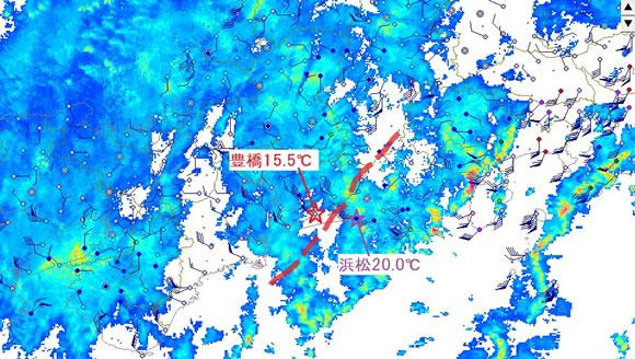 気温 豊橋 【一番当たる】愛知県豊橋市の最新天気(1時間・今日明日・週間)
